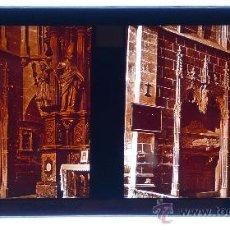 Fotografía antigua: PALMA DE MALLORCA, TUMBA CATEDRAL, 1915. FOTO: SALVANY-NONELL. CRISTAL POSITIVO ESTEREO 6X13 CM.. Lote 29198731