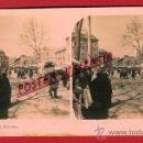 Fotografía antigua: FOTOGRAFIA ESTEROSCOPICA, FOTO, MURCIA , EL MERCADO , ORIGINAL ,S52. Lote 29590033