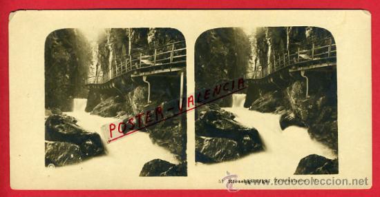 FOTOGRAFIA ESTEREOSCOPICA, FOTO, RIESENGEBIRGE , ORIGINAL ,S95 (Fotografía Antigua - Estereoscópicas)
