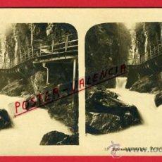 Fotografía antigua: FOTOGRAFIA ESTEREOSCOPICA, FOTO, RIESENGEBIRGE , ORIGINAL ,S95. Lote 154600408