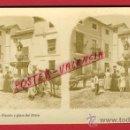 Fotografía antigua: FOTOGRAFIA ESTEREOSCOPICA, FOTO, CORDOBA , FUENTE Y PLAZA DEL POTRO , ORIGINAL ,S157. Lote 29610937