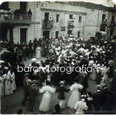 Fotografía antigua: LLINARS DEL VALLÉS, 1915'S. LOTE DE 13 CRISTALES POSITIVOS ESTEREO 10,5X4,3 CM.. Lote 30788211