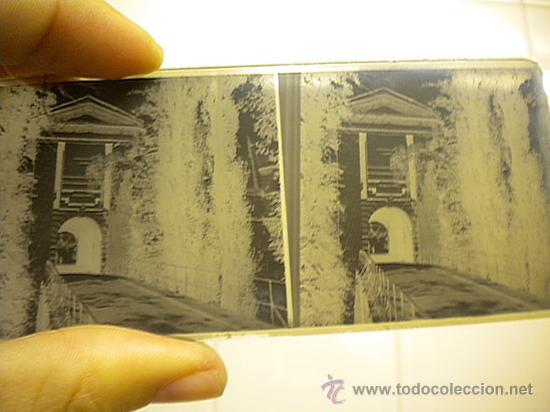 Fotografía antigua: Lote de 12 cristales del Monasterio de Poblet (Tarragona) 6x 13m. 1912. - Foto 4 - 30878308