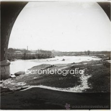 Fotografía antigua: MADRID, ALREDEDORES. 1915'S. CRISTAL POSITIVO ESTEREO 10,5X4 CM.. Lote 31538335