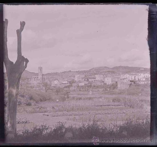Fotografía antigua: Pueblo. Catalunya. Provablemente Maresme. c. 1910 - Foto 3 - 31604167