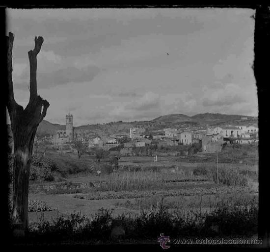 Fotografía antigua: Pueblo. Catalunya. Provablemente Maresme. c. 1910 - Foto 2 - 31604167
