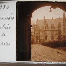 Fotografía antigua: LOTE 4 CRISTALES ESTEREOSCÓPICOS BEAUVAIS FRANCIA.1930 .. Lote 31641781