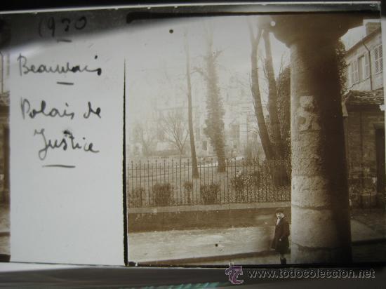 Fotografía antigua: LOTE 4 CRISTALES ESTEREOSCÓPICOS BEAUVAIS FRANCIA.1930 . - Foto 2 - 31641781