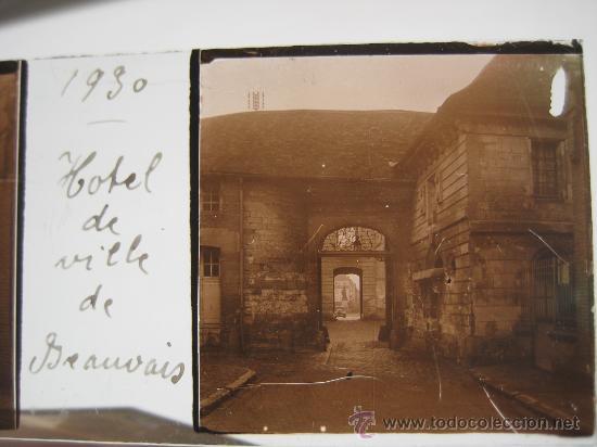 Fotografía antigua: LOTE 4 CRISTALES ESTEREOSCÓPICOS BEAUVAIS FRANCIA.1930 . - Foto 3 - 31641781