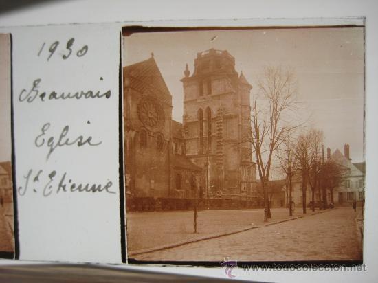 Fotografía antigua: LOTE 4 CRISTALES ESTEREOSCÓPICOS BEAUVAIS FRANCIA.1930 . - Foto 4 - 31641781