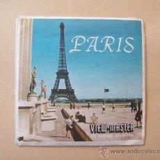 Fotografía antigua: PARIS VIEW MASTER - 21 STEREO PICTURES. Lote 31688205