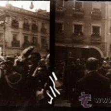 Fotografía antigua: ALICANTE, VISTA, ALFONSO XIII - PLACA ESTEREOSCOPICA CRISTAL NEGATIVO -AÑOS 1900-1905. Lote 116327756