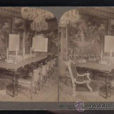 Fotografía antigua: FOTOGRAFIA. UNDERWOOD PUBLISHERS. COUNCIL CHAMBER OF KING OSCAR II. ROYAL PALACE, STOCKHOLM. 40. Lote 32318355