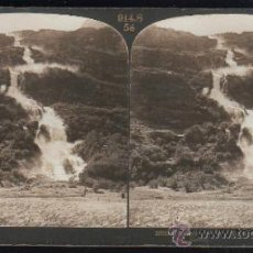 Fotografía antigua: FOTOGRAFIA. H.C. WHITE CO. 10033 A SUPERB WATERFALL AT RUSTOEN NEAR OLDEN ON THE NORD-FJORD, NORWAY. Lote 32326336