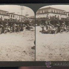 Fotografía antigua: FOTOGRAFIA. H.C. WHITE CO. 479 A JOLLY CROWD, ATLANTIC CITY, N.J. Lote 32326440