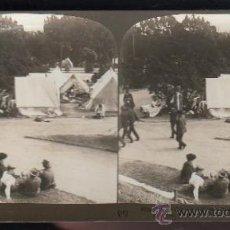 Fotografía antigua: FOTOGRAFIA. H.C. WHITE CO. 8716 CAMPAMENTO DE REFUGIADOS EN LA PLAZA LAFAYETTE. Lote 32326550