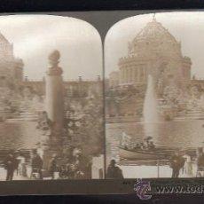 Fotografía antigua: FOTOGRAFIA. H.C. WHITE CO. 8474 THE CENTRAL FEATURE OF THE FAIR. ST.LOUIS, USA. Lote 32326564