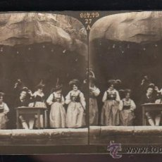 Fotografía antigua: FOTOGRAFIA. H.C. WHITE CO. 8576 TYROLEAN SINGERS IN THE TYROLEAN ALPS, ON THE PIKE. Lote 32326611