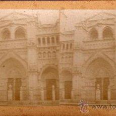 Fotografía antigua: ESTEREOSCÓPICA DE TOLEDO, CATEDRAL. Lote 32357662