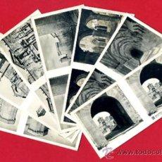 Fotografía antigua: LOTE 7 FOTOS ESTEREOSCOPICAS, MONASTERIO DE POBLET TARRAGONA , ORIGINALES L4. Lote 32570306