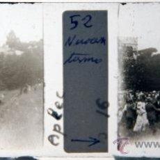 Photographie ancienne: NUMULITE C0042 CRISTAL ESTEREOSCÓPICO APLEC FIESTA POPULAR PRECIOSA IMAGEN DE ÉPOCA ANIMADA. Lote 32642137