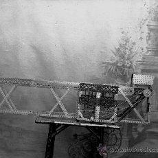 Fotografía antigua: MECANO - 1920 - 1 NEGATIVO DE VIDRIO. Lote 32920435