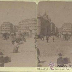 Old photograph - MADRID.- LA PUERTA DEL SOL - 33113984
