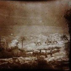 Fotografía antigua: PLACA ESTEREOSCOPICA CRISTAL (FOTO PESSEBRE). Lote 34107788