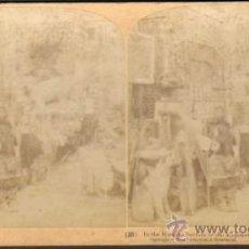 Fotografía antigua: ALBUMINA ESTEREOSCOPICA. SECCIÓN RUSA DE LA EXPOSICIÓN UNIVERSAL DE PARIS, FRANCIA EL AÑO 1900. Lote 33649940