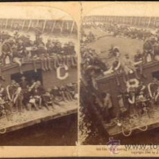 Fotografía antigua: ALBUMINA ESTEREOSCOPICA. FOT. J.F. JARVIS PUBLISHER. UNDERWOOD & UNDERWOOD. PUERTO RICO. CA. 1898. Lote 59152452