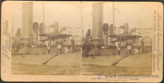 ALBUMINA ESTEREOSCOPICA. FOT. J.F. JARVIS PUBLISHER. UNDERWOOD & UNDERWOOD. PUERTO RICO. CA. 1898 (Fotografía Antigua - Estereoscópicas)