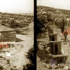 Fotografía antigua: AMPURIES - 1920'S - 3 NEGATIUS DE VIDRE . Lote 34146475