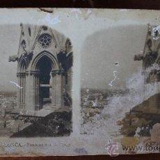 Fotografía antigua: 12 ANTIGUAS FOTOGRAFIAS ESTEREOSCOPICAS : PALMA DE MALLORCA – TARRAGONA – TOLEDO – VALENCIA. Lote 34523275