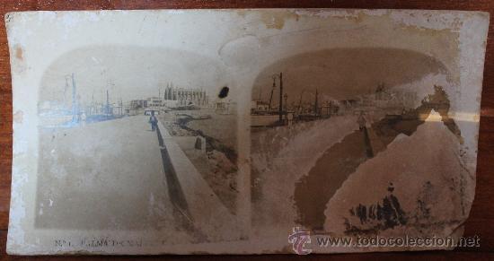 Fotografía antigua: ANTIGUAS FOTOGRAFIAS ESTEREOSCOPICAS : PALMA DE MALLORCA – TARRAGONA – TOLEDO – VALENCIA - Foto 13 - 34523275