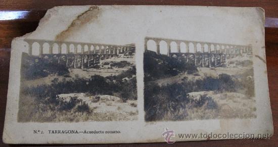 Fotografía antigua: ANTIGUAS FOTOGRAFIAS ESTEREOSCOPICAS : PALMA DE MALLORCA – TARRAGONA – TOLEDO – VALENCIA - Foto 8 - 34523275