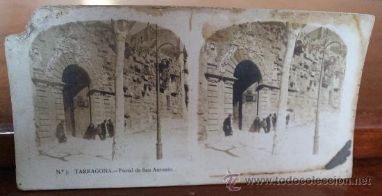 Fotografía antigua: ANTIGUAS FOTOGRAFIAS ESTEREOSCOPICAS : PALMA DE MALLORCA – TARRAGONA – TOLEDO – VALENCIA - Foto 5 - 34523275