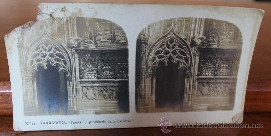 Fotografía antigua: ANTIGUAS FOTOGRAFIAS ESTEREOSCOPICAS : PALMA DE MALLORCA – TARRAGONA – TOLEDO – VALENCIA - Foto 10 - 34523275