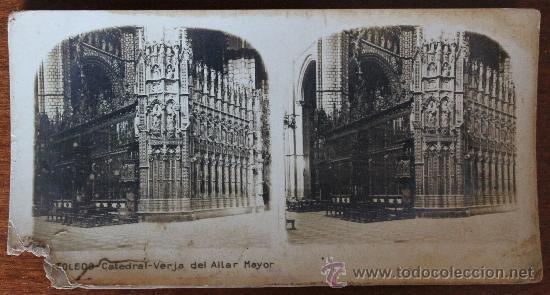 Fotografía antigua: ANTIGUAS FOTOGRAFIAS ESTEREOSCOPICAS : PALMA DE MALLORCA – TARRAGONA – TOLEDO – VALENCIA - Foto 33 - 34523275