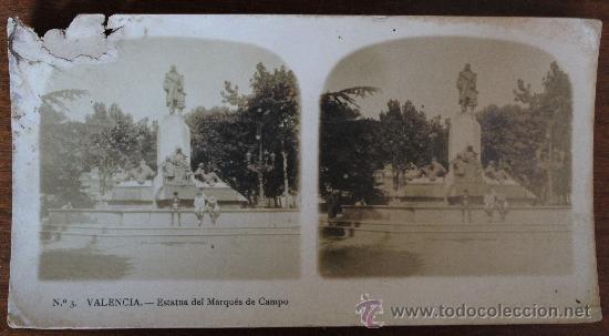 Fotografía antigua: ANTIGUAS FOTOGRAFIAS ESTEREOSCOPICAS : PALMA DE MALLORCA – TARRAGONA – TOLEDO – VALENCIA - Foto 25 - 34523275