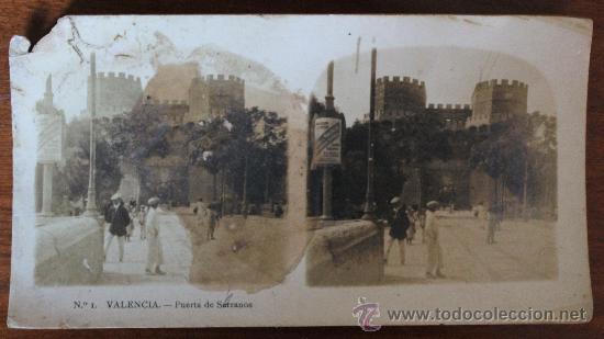 Fotografía antigua: ANTIGUAS FOTOGRAFIAS ESTEREOSCOPICAS : PALMA DE MALLORCA – TARRAGONA – TOLEDO – VALENCIA - Foto 22 - 34523275