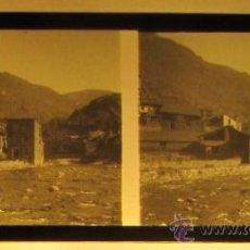 Fotografía antigua: ESTERRI D'ANEU. PLACA CRISTAL ESTEREOSCOPICA POSITIVA. Lote 34739540
