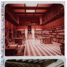 Fotografía antigua: CASTELL DE PERALADA, 1912'S. LOTE DE 10 CRISTALES POSITIVOS ESTEREO 6X13 CM. FOTOS: PARÉS, FXP.. Lote 34731820