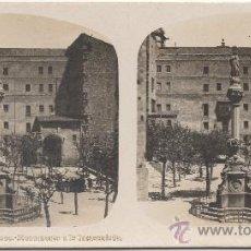 Fotografía antigua: MONTSERRAT - BARCELONA - MONUMENTO A LA INMACULADA.. Lote 34935069