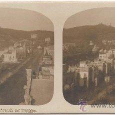 Fotografía antigua: BARCELONA.- AVENIDA DEL TIBIDABO.. Lote 34936776