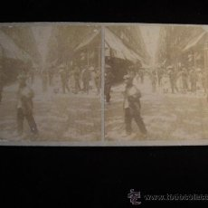 Fotografía antigua - FOTOGRAFIA ESTEREOSCOPICA DE BARCELONA CALLE FERNANDO - 34991140