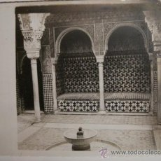 Alte Fotografie - GRANADA ALHAMBRA - CRISTAL ESTEREOSCOPICO AÑOS 1900 - MAS EN VENTA - 35662466
