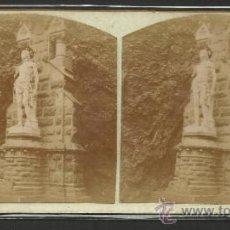Fotografía antigua: MONTSERRAT - 2º MISTERIO DE DOLOR CAMINO DE LA CUEVA - (F-319). Lote 35811808