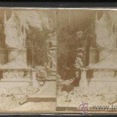 Fotografía antigua: MONTSERRAT - PRIMER MIOSTERIO DE GOZO -(F-326). Lote 35813747