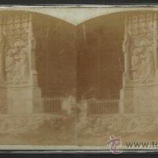 Fotografía antigua: MONTSERRAT - 4º MISTERIO DE GOZO CAMINO DE LA CUEVA -(F-331). Lote 35813888