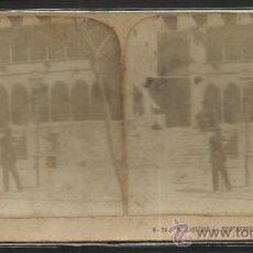 Fotografía antigua: MONTSERRAT - CLAUSTROS -(F-337). Lote 35814289
